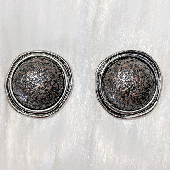 Liz Claiborne Jewelry - Liz Claiborne Gunmetal Earrings